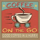 Coffeehouse III Posters by Jess Aiken