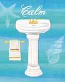 Seashells Spa I Poster af Veronique Charron