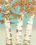 Golden Birches III Poster by James Wiens