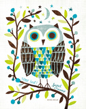 Night Owl I Print by Michael Mullan
