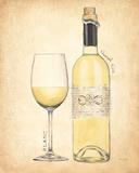Grand Cru Blanc Posters by Emily Adams