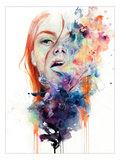 This Thing Called Art Is Really Dangerous Giclee-tryk i høj kvalitet af Agnes Cecile