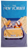 Barbara Westman's The New Yorker Crusing Towel Towel by Barbara Westman