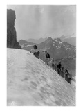 Mountaineers in the North Cascades, ca. 1909 Giclee-trykk av Ashael Curtis
