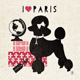 Paris Pooch Prints by Sarah Mousseau