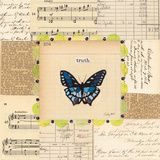 Truth Butterfly Posters par Courtney Prahl
