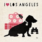 LA Pooch Posters by Studio Mousseau