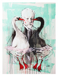 Tchaikovsky Giclee Print by Lora Zombie