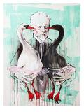 Tchaikovsky Giclee Print by Lora Zombie