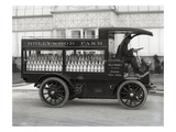 Hollywood Farm Milk Delivery Truck, Seattle, 1913 Giclee Print