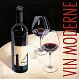 Vin Moderne V Affiche par Marco Fabiano