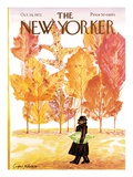 The New Yorker Cover - October 14, 1972 Premium Giclee Print by Eug&#232;ne Mihaesco