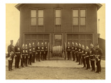 Eagle Hose Co. No. 2, Tacoma (ca. 1888) Giclee Print by I.G. Davidson