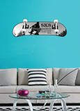 Skateboarding Proudly Annoying Wall Decal Sticker Wall Decal