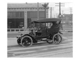 Vintage Automobile, Seattle, 1915 Reproduction procédé giclée par Ashael Curtis