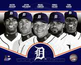 Detroit Tigers 2013 Team Composite Photographie
