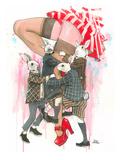 Playboys Affiches par Lora Zombie