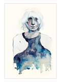 Tomorrow&#39;s Final Crash Giclee Print by Agnes Cecile