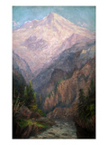 Mt. Tacoma from Tahoma Fork, 1915-1916 Giclee Print by Frederick Holmes