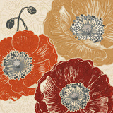 A Poppy's Touch III Prints by Daphne Brissonnet