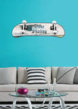 Gone Skating Wall Decal Sticker Wall Decal