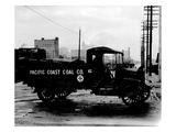 Pacific Coast Coal Company Delivery Truck, Tacoma, 1918-1919 Giclee Print by Marvin Boland