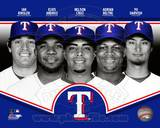 Texas Rangers 2013 Team Composite Photo