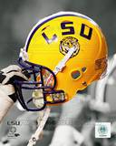 Louisiana State University Tigers Helmet Spotlight Photo