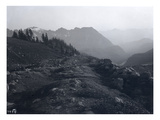 Nisqually Glacier Moraine, ca. 1905 Giclee Print by Ashael Curtis
