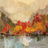 Fall Riverside II Prints by Silvia Vassileva