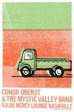 Conor Oberst Sérigraphie par  Print Mafia