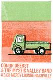Conor Oberst Serigraph by  Print Mafia