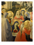 Holy Women, from the Deposition of Christ, 1435 (Detail) Giclee Print by Fra Angelico
