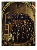 Lecture in University of Salamanca, C. 1614 Giclee Print by Martin Cervera