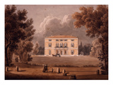 Villa Paolina, Italy, from Porte Pia, Rome Giclee Print by G Riveruzzi