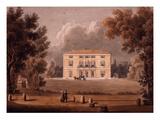 Villa Paolina, Italy, from Porte Pia, Rome Giclee Print by G Riveruzzi