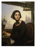 Rigolette Cherchant À Se Distraire Pendant L'Absence De Germain Giclee Print by Joseph Desire Court