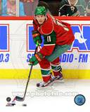 Zach Parise 2012-13 Action Photo