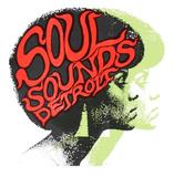 Soul Sounds Detroit Silketrykk av  Print Mafia