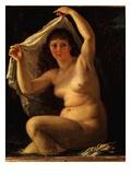 Diane Au Bain (Diana Bathing) Giclee Print by Antoine Jean Gros