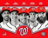 Washington Nationals 2013 Team Composite Foto