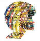 Famous Stereo Serigrafie von  Print Mafia