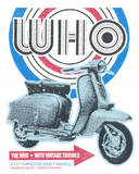 The Who - Quadrophenia Tour Sérigraphie par  Print Mafia
