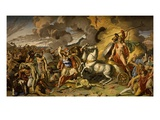 Death of Hector and Triumph of Achilles, 1815, Ceiling, Mars Salon Giclee Print by Antonio Calliani