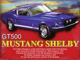 Mustang Shelby Cartel de chapa