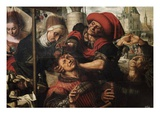 The Surgeon Giclee Print by Jan Sanders van Hemessen