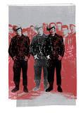 Black Rebels Serigrafi af Print Mafia