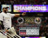 Ray Lewis Super Bowl XLVII Champion Overlay Photo