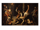 The Flagellation of Christ Giclee Print by Jeremie Le Pilleur