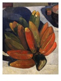 Hand of Bananas, from Le Repas, the Meal, 1891, Detail Giclee Print by Paul Gauguin